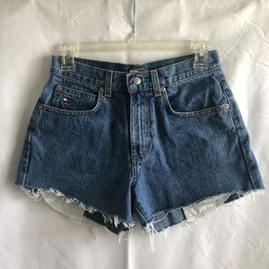 Vintage Tommy Cut-off shorts